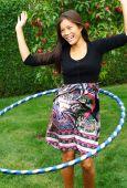stock photo of hula dancer  - Hula hoop - JPG