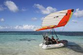Flying Boat in Punta Cana, Dominican Republic