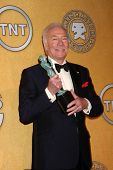 Christopher Plummer at the 18th Annual Screen Actors Guild Awards Pressroom, Shrine Auditorium, Los Angeles, CA 01-29-12