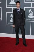 Adam Levine at the 54th Annual Grammy Awards, Staples Center, Los Angeles, CA 02-12-12