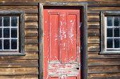 Rustic old hut
