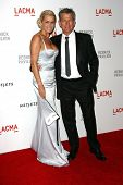 David Foster and Yolanda Hadid at LACMA presents