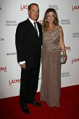Tom Hanks and Rita Wilson Tom Hanks, Rita Wilson at LACMA presents
