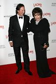 Joan Collins, Percy Gibson  at LACMA presents