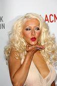 Christina Aguilera at LACMA presents