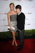 Molly McCook and Devon Werkheiser  at the 8th Annual Teen Vogue Young Hollywood Party, Paramount Studios, Hollywood, CA. 10-01-10