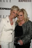 Cindy McCain, Meghan McCain  at the ELLE and Express