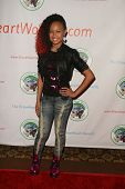 Cymphonique Miller at the 2010 BraveHeart Awards, Hyatt Regency Century Plaza Hotel, Century City, C