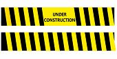 Under Construction Warning Tape