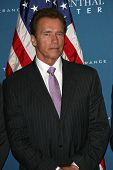 Arnold Schwarzenegger at the Official Signing of California Senate Bill 657, Museum Of Tolerance, Lo