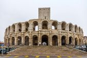 Roman Amphitheatre In Arles - Unesco World Heritage In France