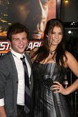 Jonathan Lipnicki and Katelyn Pippy  at the