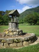 pic of wishing-well  - Image of a wishing well in North Carolina - JPG