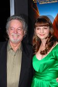 Amber Tamblyn, Russ Tamblyn at the