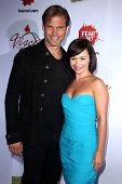 Casper Van Dien, Danielle Harris at the