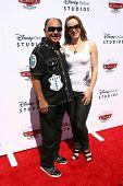 Cheech Marin and Natasha Rubin at the Launch of The World of