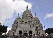 PARIS,FRANCE-AUGUST19-Sacre Coeur Basilica in Paris