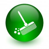 foto of broom  - broom icon - JPG