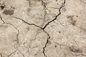 Cracked Earth. Global Warming - Parched Earth