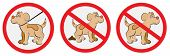 foto of dog poop  - VEctor illustration of nice signs for dogs - JPG
