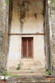 old temple window