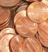 Haufen von Pennys