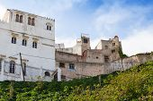Living Houses In Medina, Old Part Of Tangier, Morocco