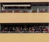 Balcony Full Of People