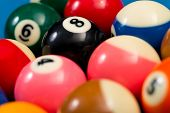 Billiard Balls Ready For The Break