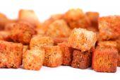 Deliciosos Croutons aislados
