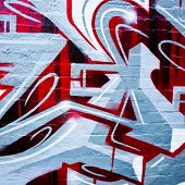 MELBOURNE, AUSTRALIA - JUNE 20 2014: Street art by unidentified artist. Melbourne's graffiti management plan recognises the importance of street art in a vibrant urban culture