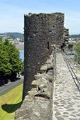 Conwy's town wall