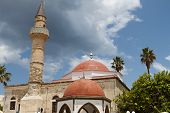 Kos island in Greece. Deftendar mosque