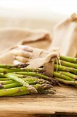 Fresh Healthy Green Asparagus Spears