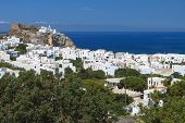 Nisyros island in Greece