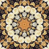 foto of marquetry  - Abstract seamless artistic pattern - JPG