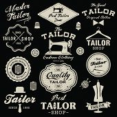 image of tailoring  - Vintage design elements - JPG