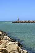 picture of vilamoura  - Entrance to the Vilamoura harbor in Portugal