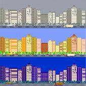 Illustration Of A City Street