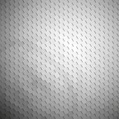 Gray geometric background, abstract hexagonal pattern vector