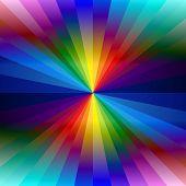 Rainbow colorful kaleidoscope background