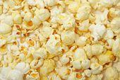 Popcorn  Close Up