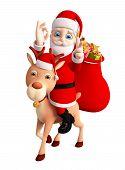 3D Santa For Christmas