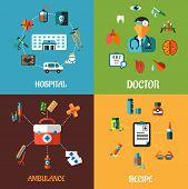 Flat medical concept designs