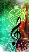 Chistmas Music Background