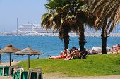 Malagueta beach, Malaga.