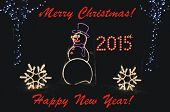 Greeting for Christmas and New Year 2015!