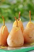Poached Pears In Syrup