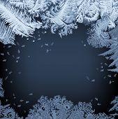 Frosty Window - background