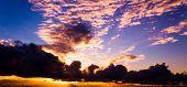 Fiery Heaven Setting Sun